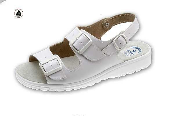 klumpa 06AS fehér, méret:39-47, ISO20347 OB (csak kereskedőknek,előrendelésre kapható)