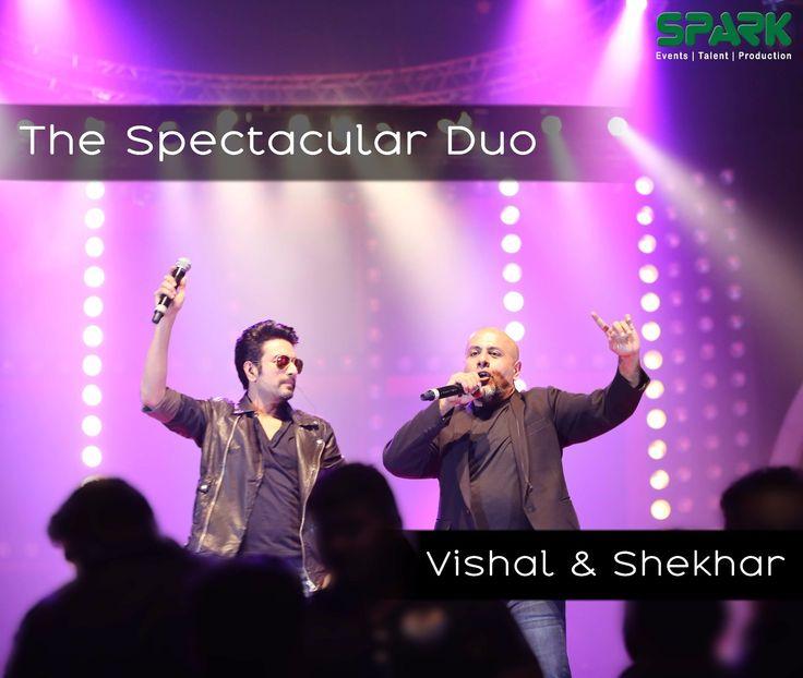 The best ever music duo, Vishal & Shekhar entertaining the crowd with the Bollywood hits.  #SparkEvents #Reception #WeddingPlanners #VishalShekhar #Bollywood #Performance #Performers #Sangeet #DestinationWedding #BigFatIndianWedding #ThemeWedding #WeddingDiaries #WeddingAffair #IndianWeddi