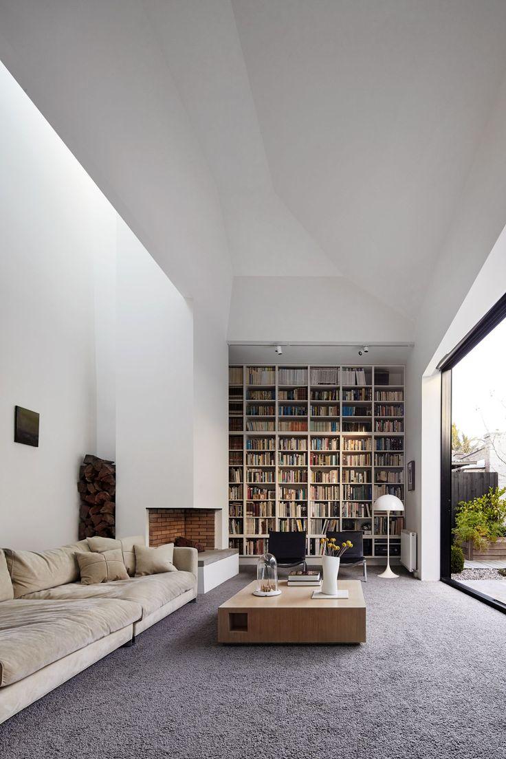Moderne Home Library Designs, die sich auszeichnen können