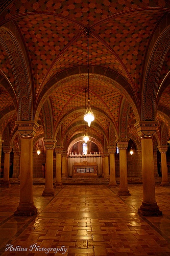 Crypt of Pecs Cathedral, Hungary