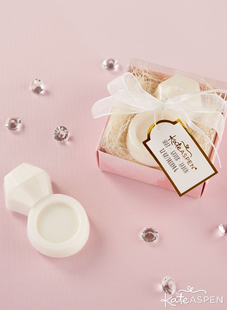 Diamond Ring Soap 46 best Favor Displays