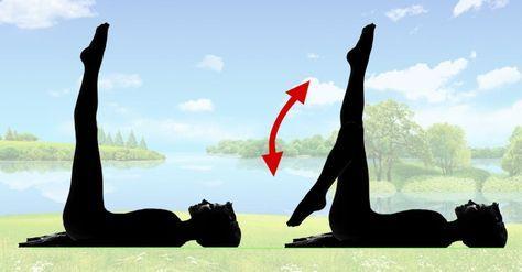 Len 5 minút pred spánkom – Pevnejšie stehná a brucho sú zaručené! Zapojte sa do tohto cvičenia a budete potrebovať menšie nohavice – Báječné Ženy