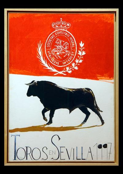 Félix de Cárdenas 1997. Este Póster lo tengo en casa, regalo de Gastón Ramírez Cuevas en 1997.