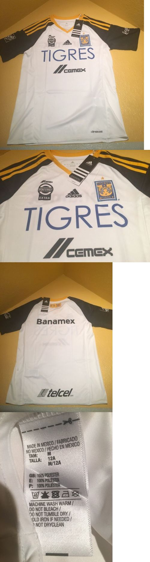 Youth 159099: Tigres Uanl Tercer Jersey 2016 Original Adidas Niño Youth Size M -> BUY IT NOW ONLY: $49.95 on eBay!
