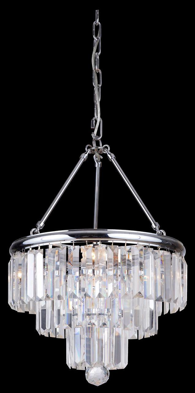 Show details for Odyssey 3 Light Small Chandelier (Odyssey/3Lt) Lighting Inspirations