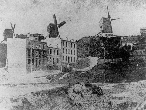 Rue Tholozé en 1842 - Montmartre - Paris
