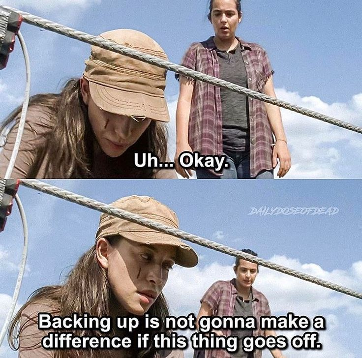"The Walking Dead, Season 7, episode 9, ""Rock In The Road"" - Who knew Rosita could disarm a bomb? 