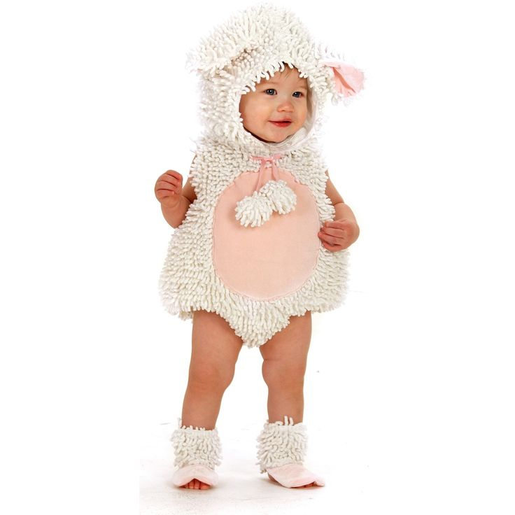 Toddler Lamb Costume- so absolutely adorable!