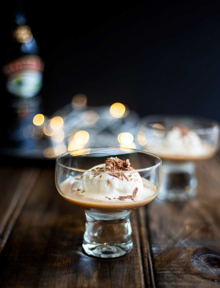 Baileys, vanilla ice cream and chocolate flake. Decadent, instant and perfect for the holiday season!