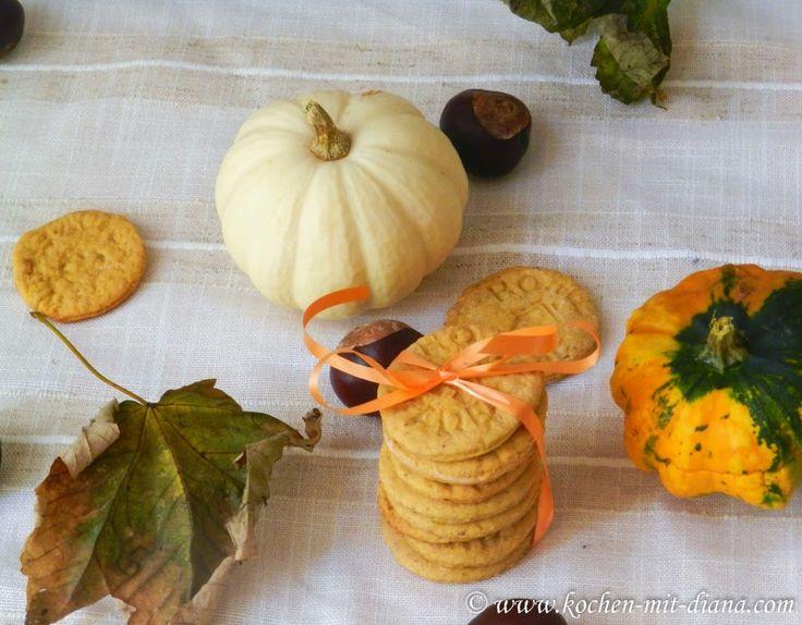 Kochen mit Diana/ Cooking with Diana: Kürbis-Kekse/ Pumpkin cookies