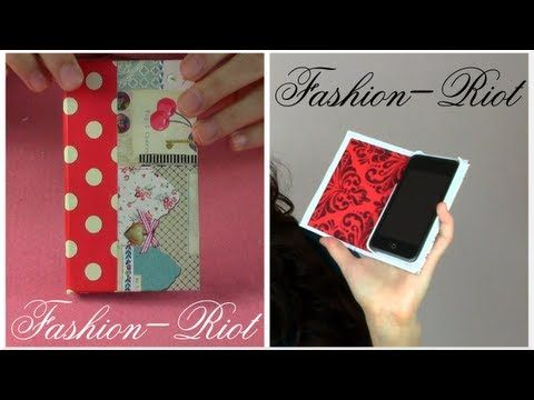 DIY - Funda para Teléfono. Link download: http://www.getlinkyoutube.com/watch?v=cS4cPOMmGVk