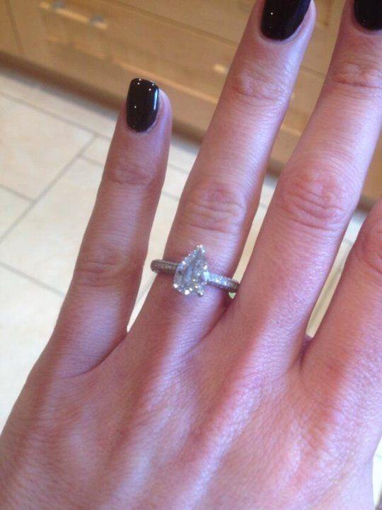 Wedding & Engagement Ring Photos & Ideas | Brides