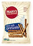Mary's Gone Crackers, organic, gluten free, wheat free, dairy free crackers, cookies and snacks.  Buy Online
