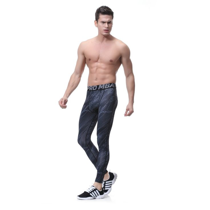 Leggings Compression Mens Joggers High Stretch Tight Pants Long Men's Legging Pant Compression Sexy Designed Sweatpants Yx1626