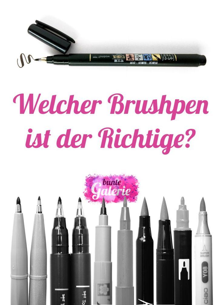 Stifte und Papier für Brush-Lettering – Anna Ratzmann