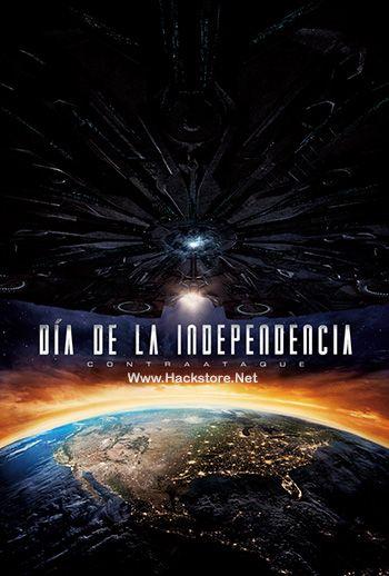 Poster de Día de la Independencia: Contraataque (2016) Blu-Ray RIP HD Latino