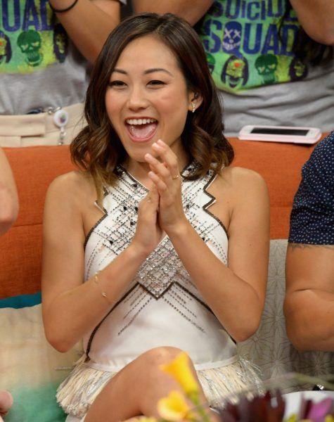 Karen Fukuhara on the Set of Despierta America in Miami #Karen #Fukuhara #Set…
