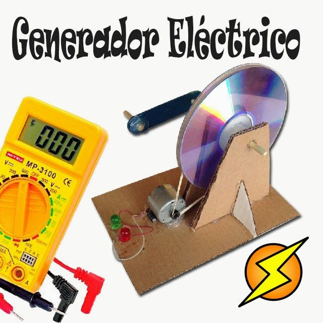 60 best images about proyectos caseros on pinterest home - Mini generador electrico ...