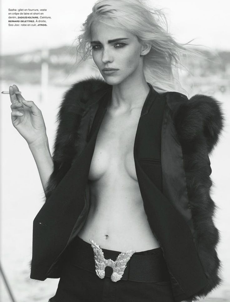Sasha Luss by Peter Lindbergh for Numero October 13