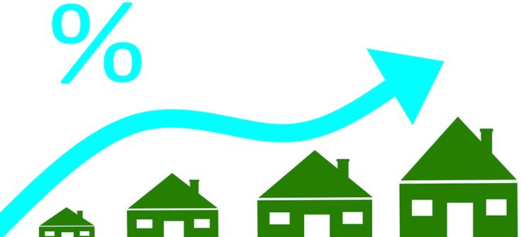 #Mortgage Rates Rise 8 Consecutive Weeks in #US #RealEstate