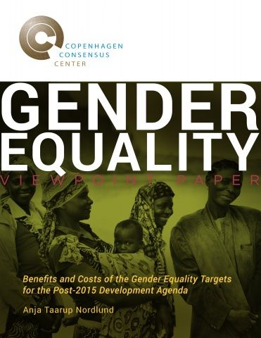The viewpoint of Anja Taarup Nordlund, Sr. Gender Consultant at Nordic Consulting Group Sweden, values the input of a benefit-cost anaylsis in the debate of gender equality targets for the post-2015 development agenda. Nordlund instead focuses this viewpoint paper on a discussion of what kind of gender results the post-2015 development agenda should achieve.