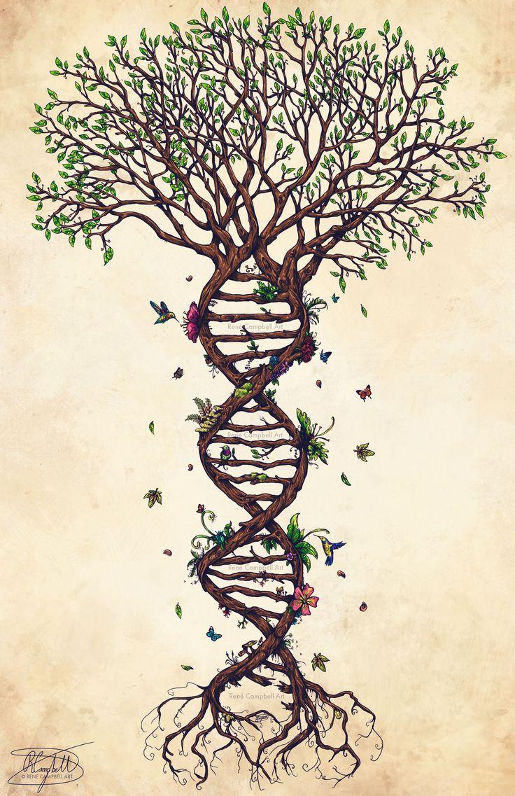 The Fabric of Life [Life Tree Original]