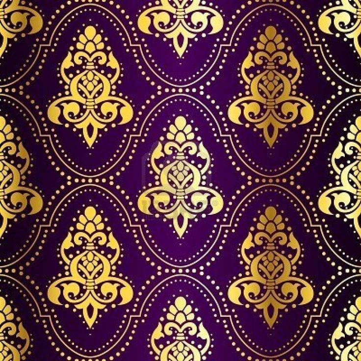 ....Purple with Gold, so much richer than with silver.... indian pattern