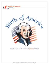 Birth of America Printable Book (Grades 4-8): Take a detailed look at the people and events surrounding the signing of the Declaration of Independence and the Fourth of July. This printable book includes plenty of activities and lessons about United States history. #IndependenceDay #ushistory
