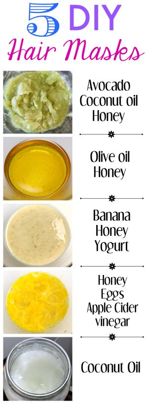 DIY Hair Mask with Egg and Honey