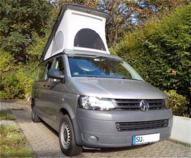 volkswagen t5 camper mit aufstelldach in nordrhein. Black Bedroom Furniture Sets. Home Design Ideas