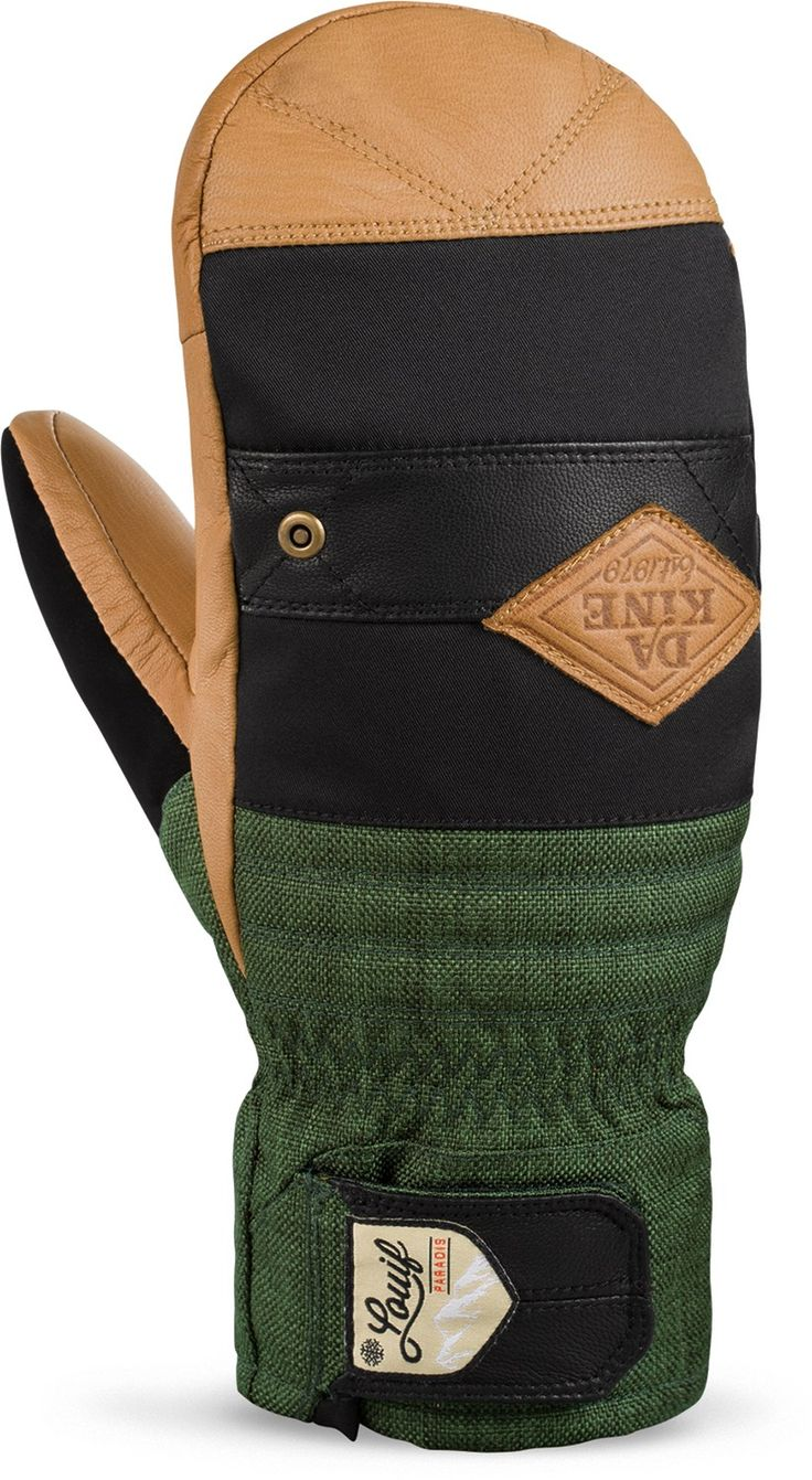 Dakine Male Louif Paradis Team Fillmore Insulated Mittens - Men's