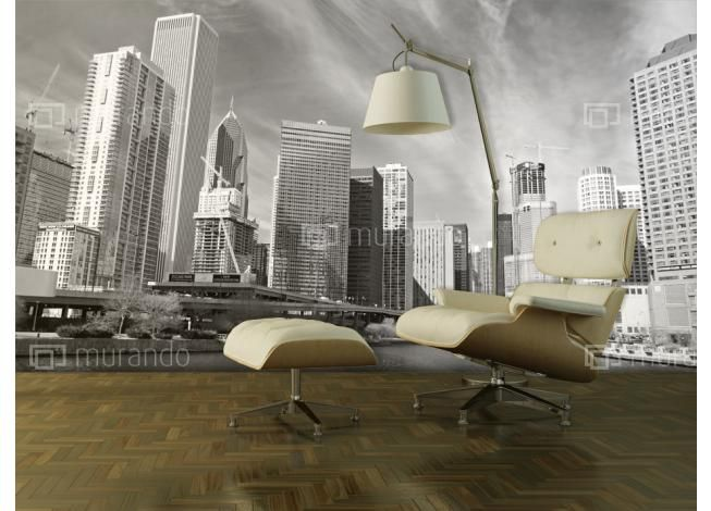 Fototapeta Panorama Chicago #chicago #homedecor #homedesign