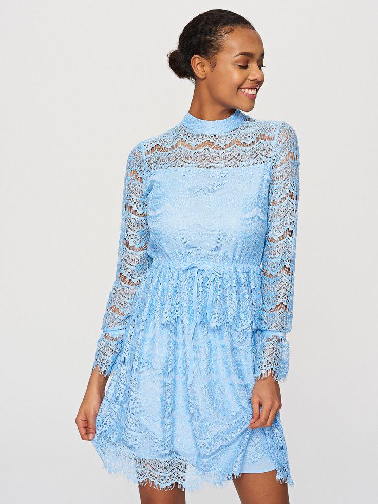 Vásárolj online! Csipkés ruha, RESERVED, TQ700-05X