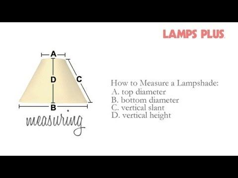 How To Measure Lamp Shade Delectable 140 Best Decor Advice And Diy Tips Images On Pinterest  Advice Decorating Inspiration