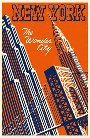 vintage looking travel posters for the walls maybe?