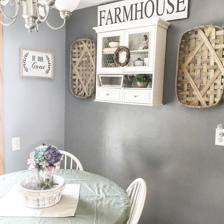 Farm house hutch... Added some southern charm with a hutch and new color pallet. So here's the finished product! ... for now 🙂 the best part is I have less than $60 invested in my mini make over.