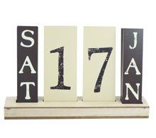 Tile wooden Calendar