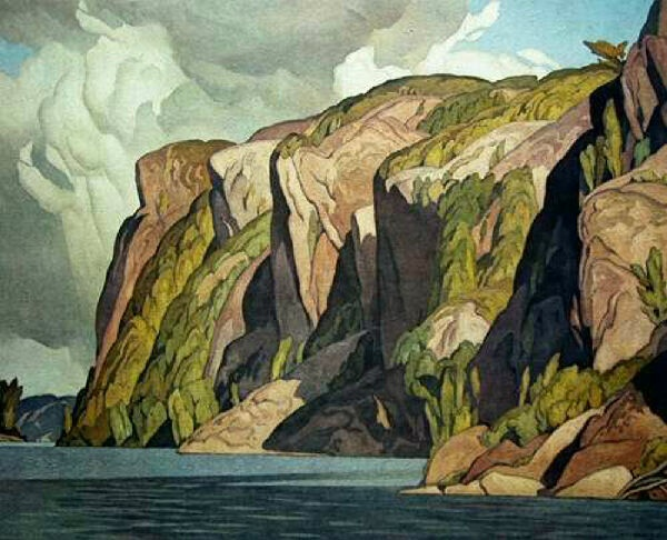 Bon Echo by A.J. Casson