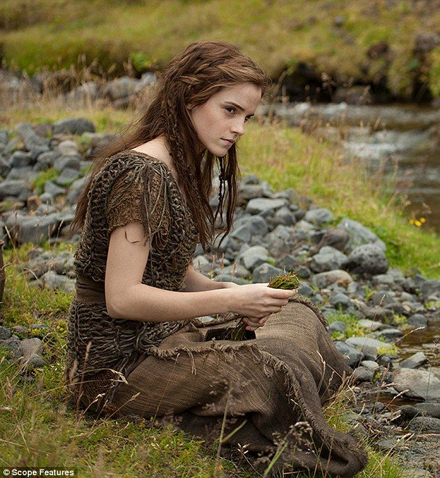 Emma Watson's hairstyle from the Noah film