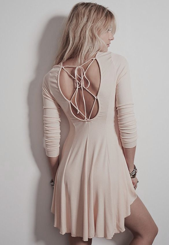 Shop Pink Long Sleeve Lace Back Dress online. Sheinside offers Pink Long Sleeve Lace Back Dress & more to fit your fashionable needs. Free Shipping Worldwide!