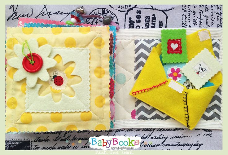 Baby Quiet Book Activity Pages