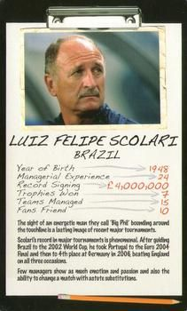 2006 Top Trumps Limited Editions Football Managers #NNO Luiz Felipe Scolari Front