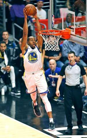 fd41fbb36950 Kevin Durant s 50 points lift Warriors to series-clinching win over Clippers  - SFGate