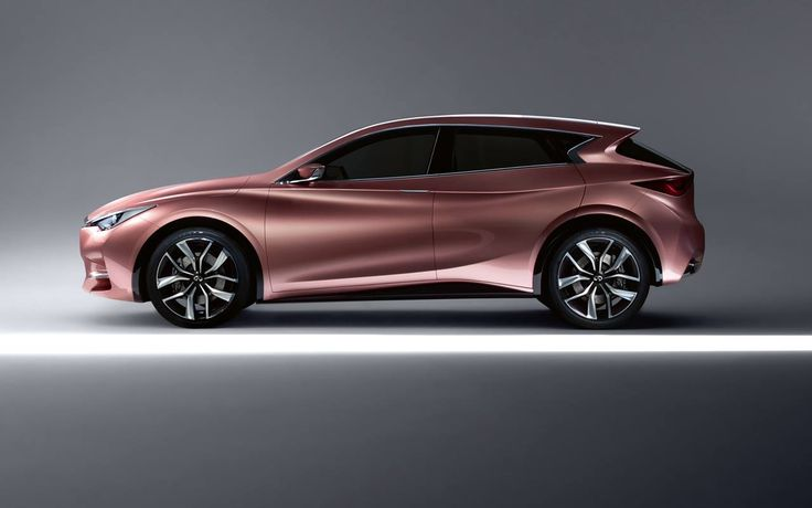 Infiniti Q30 Concept Hot Amp The Rose Gold Color Is Gorg
