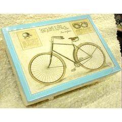 Stitched Cycle print box (medium) - 20 x 29 x 11 cm for R180.00