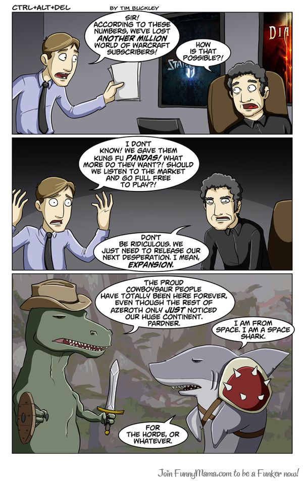 world of warcraft game comics. MoP ruined WoW; it couldn't get any worse.