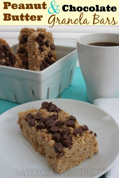 Peanut Butter Granola Bars - Saving Dollars & Sense | Personal Finance Blog