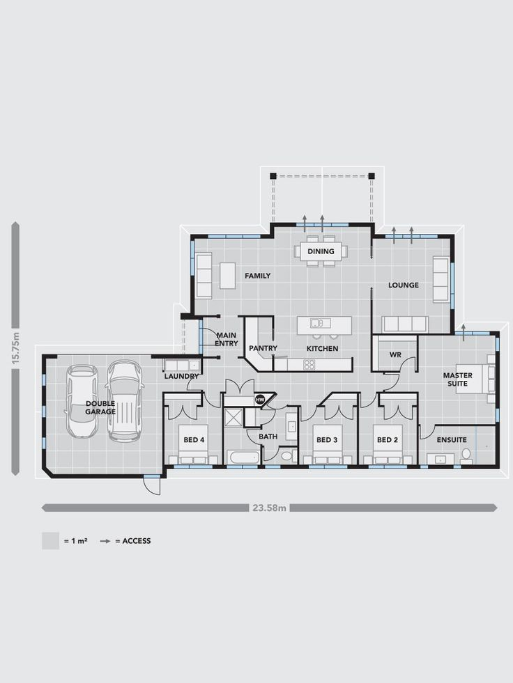 9 best house plans images on Pinterest | Floor plans, Home design ...