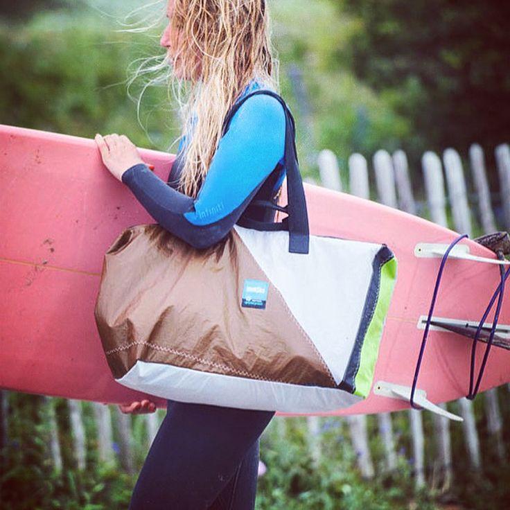 Anytime, anywhere, all summer long! #thinksea #travelbag #reuse #recycle #unique #urbanfashion #handcraft #summertime #madeingreece #paros #parosurfclub #windsurf #kiteboarding #sail #beachlife #surfana