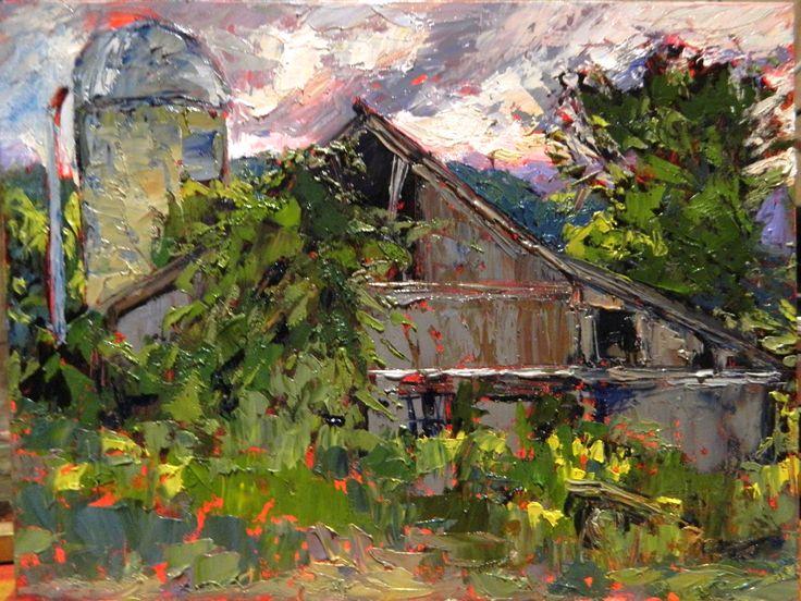 Cynthia Rosen Small Oil Paintings